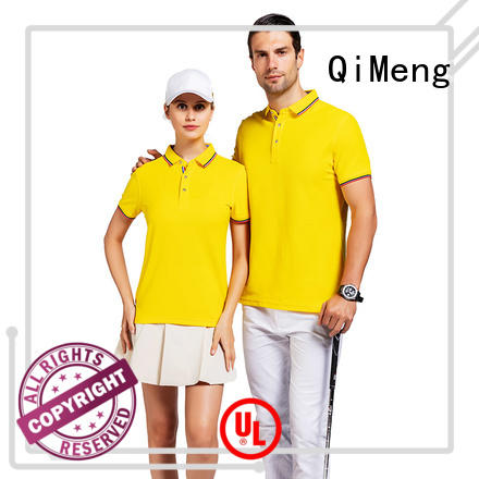 QiMeng size polo shirts wholesale china manufacturer for business meetings