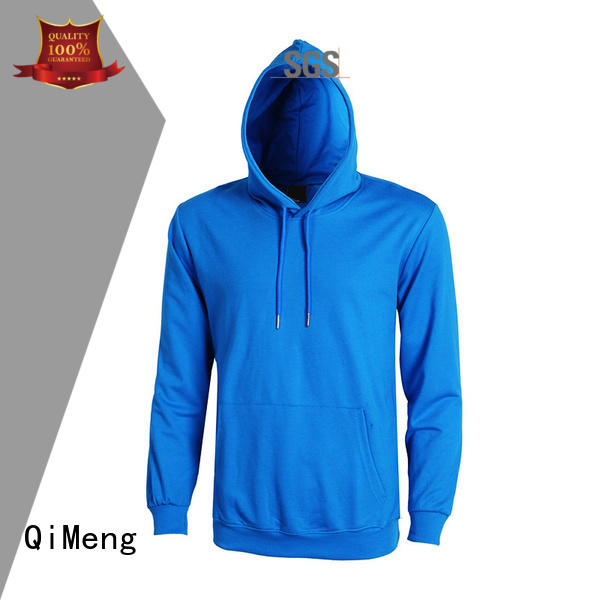 premium blank hoodies sleeve QiMeng