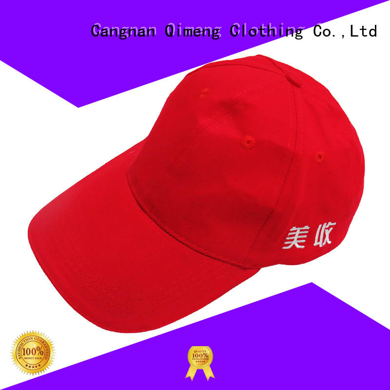 Top popular custom design outdoor baseball cap directly sale