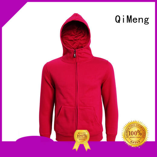QiMeng hoodies sport owner for promotional campaigns