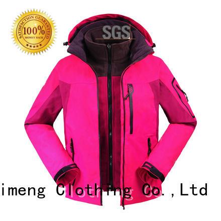 custom embroidered jackets jackets QiMeng
