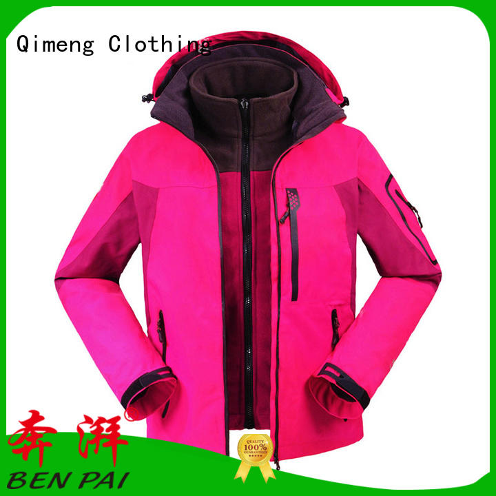 QiMeng modern men jacket wholesale directly sale for sports