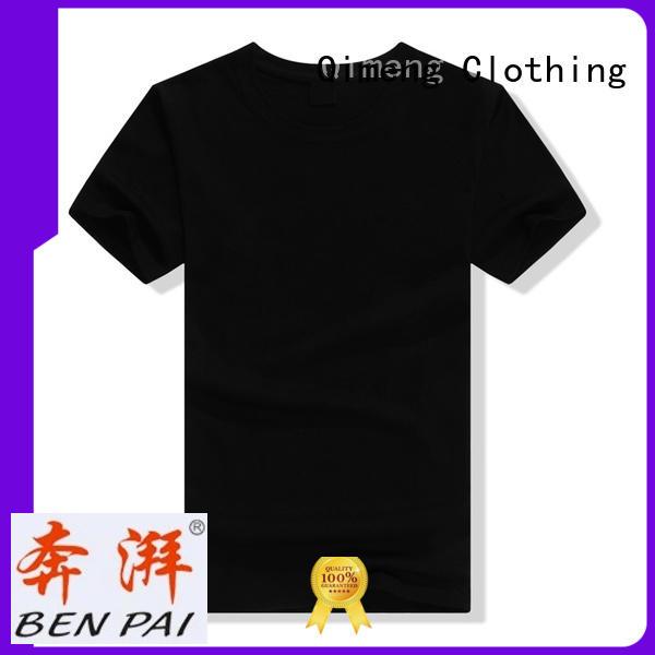 shirts plain t shirts cotton in street QiMeng