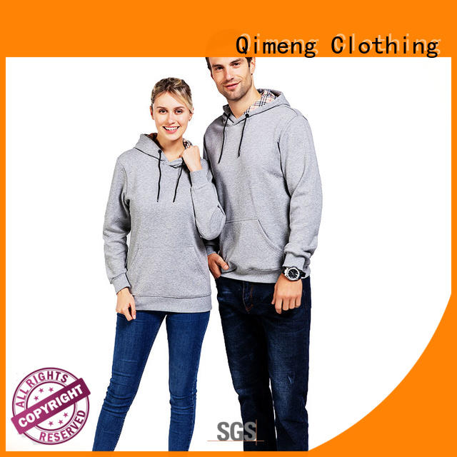 QiMeng new-selling blank hoodies supplier for promotional campaigns