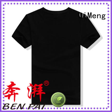 QiMeng new-coming mens t shirts in China for promotional campaigns