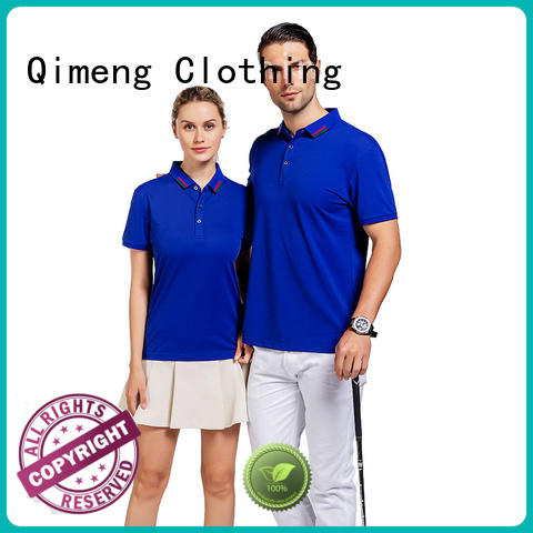 clothing cotton polo shirts mens quality for daily wear QiMeng