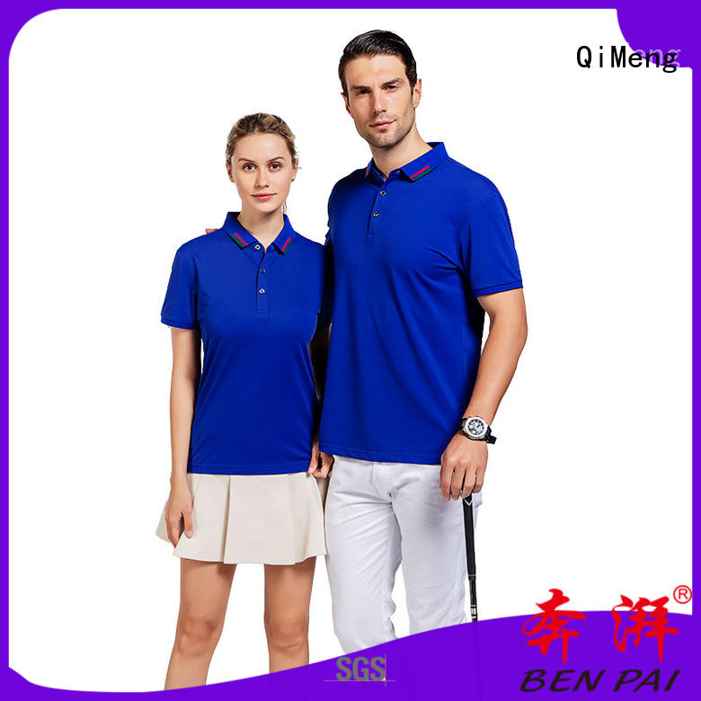 QiMeng best t-shirts polos manufacturer for promotional campaigns