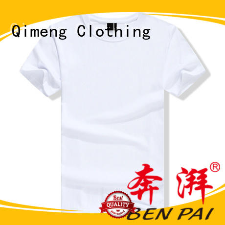 QiMeng wholesale t shirt printing supplier for daily wear
