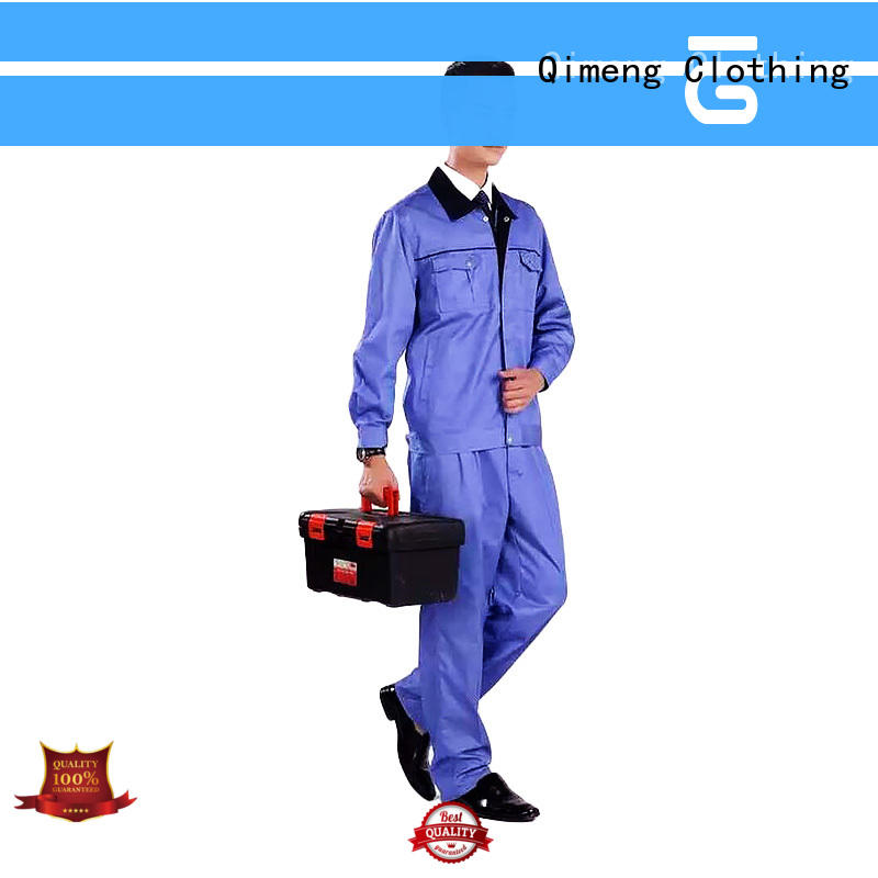 QiMeng uniform uniform polo shirt in different color in work room