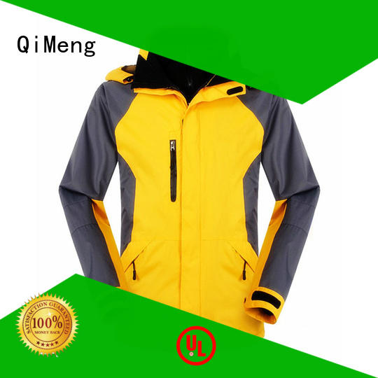 QiMeng breathable waterproof winter jacket manufacturer for outdoor activities