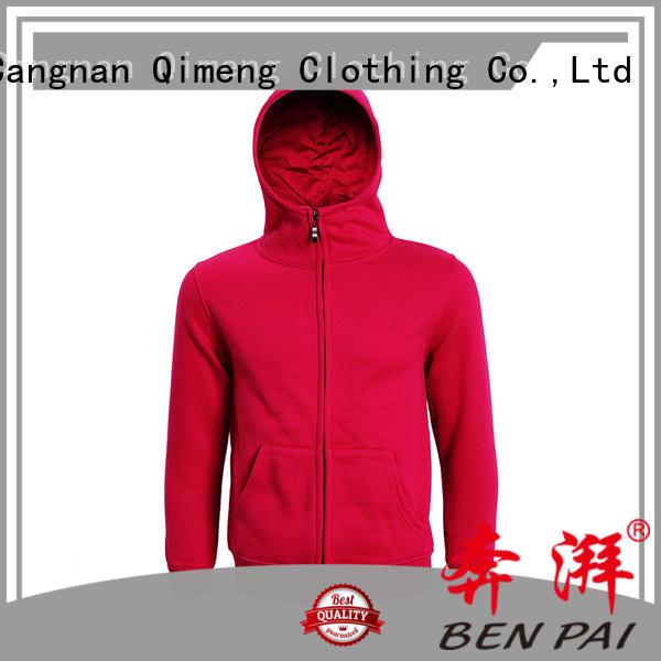 QiMeng printed hoodies sweatshirts women supplier for sporting