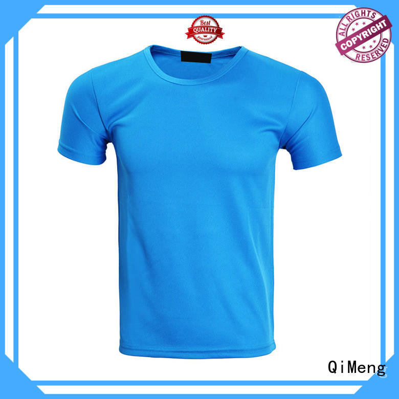QiMeng printed wholesale t shirt printing on sale for daily wear