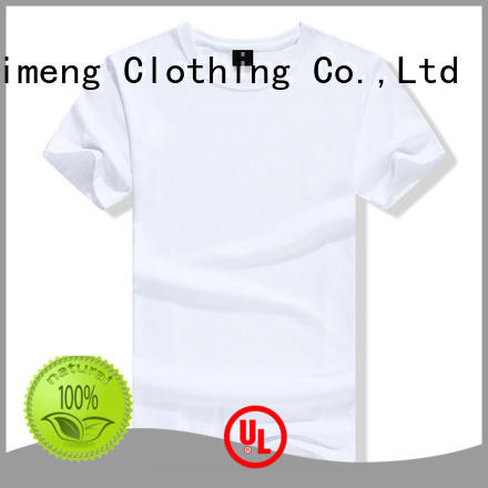 QiMeng screen printed t-shirts on sale for promotional campaigns