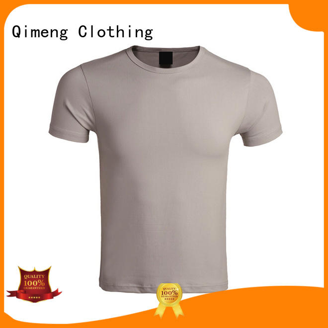 QiMeng new-coming wholesale t shirt printing in China for daily wear