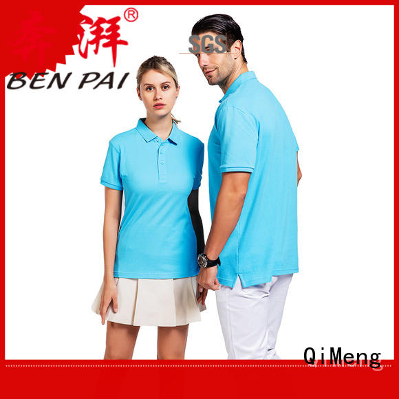 QiMeng attractive yellow polo t shirts with many colors for promotional campaigns