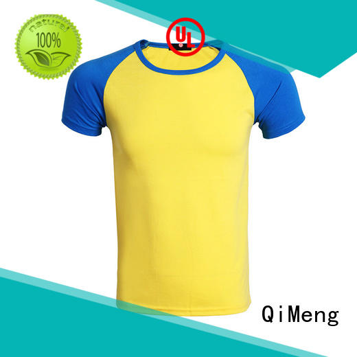 QiMeng white white t shirts for sporting