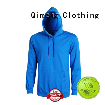 QiMeng service hoodies sweatshirts men for promotional campaigns
