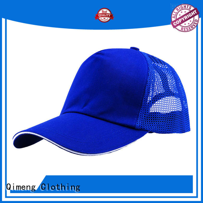 QiMeng hot-selling personalized cap with good price for sporting