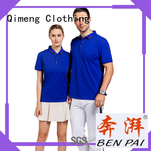 many custom print polo shirts newest for outdoor activities QiMeng