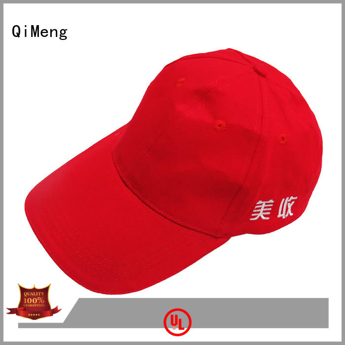 QiMeng hot-selling cotton baseball cap for campaigns