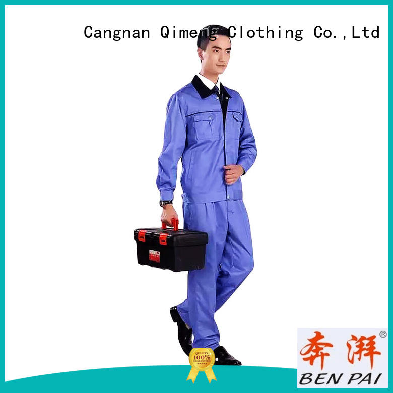 worker security uniform in China for industry QiMeng