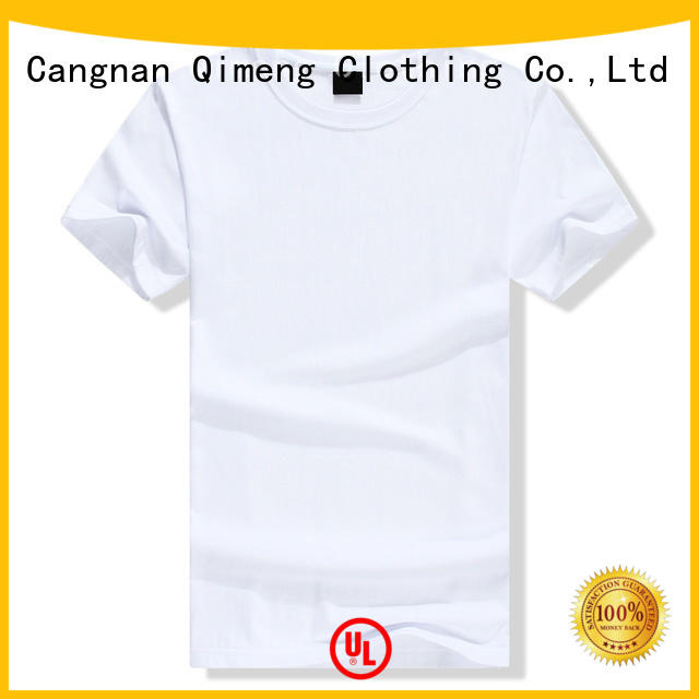 QiMeng various custom tee shirts owner for promotional campaigns