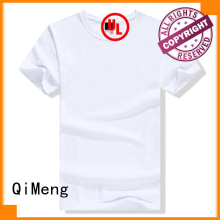 QiMeng t shirts for girls in China for sports