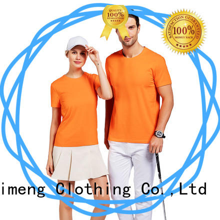 QiMeng shirts branded t shirts on sale for team-work