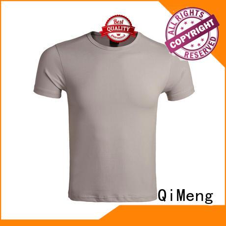 QiMeng bulk plain white t-shirts supplier for promotional campaigns