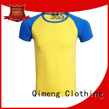 QiMeng oneck t shirts for girls for sports
