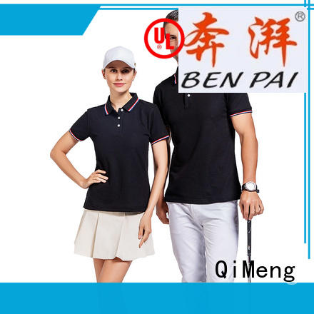 men polo t-shirts polyester for promotional campaigns QiMeng