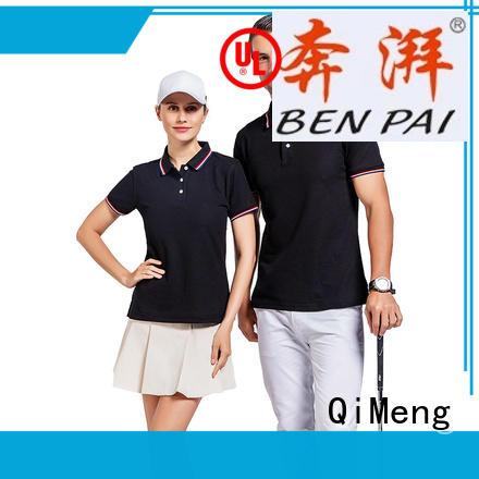 QiMeng promotional men golf polo shirt vendor for promotional campaigns