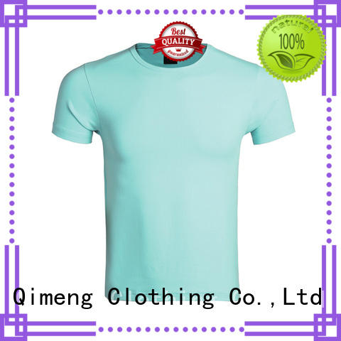 QiMeng womens custom embroidered t shirts experts for outdoor activities