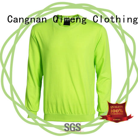 QiMeng new-selling fitness hoodies directly sale for sporting