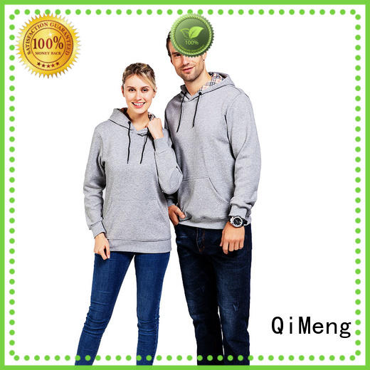 QiMeng excellent plain hoodies price for daily wear