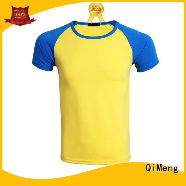 QiMeng directly slim fit t shirt supplier for outdoor activities