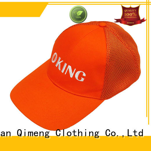 QiMeng hot-selling blank cap button design for outdoor activities