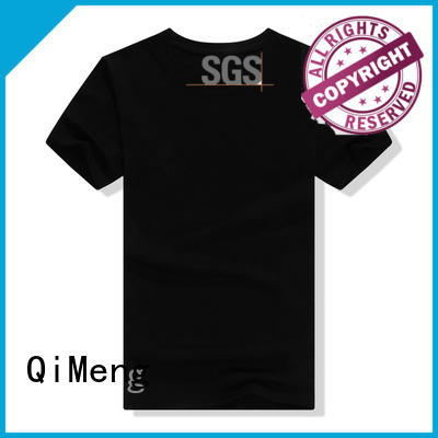 coton t-shirts printed for promotional campaigns QiMeng