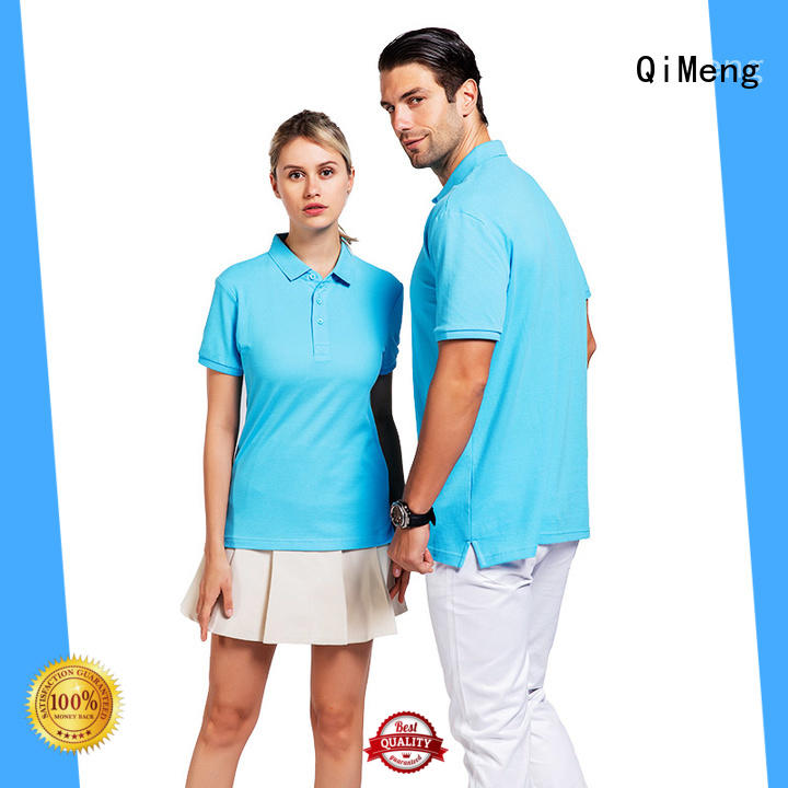 QiMeng 100%cotton polyester polo t shirts vendor for promotional campaigns