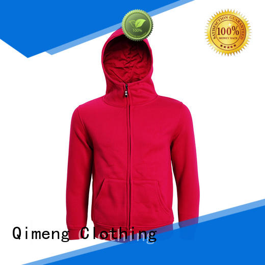 QiMeng mens sports hoodies price for daily wear