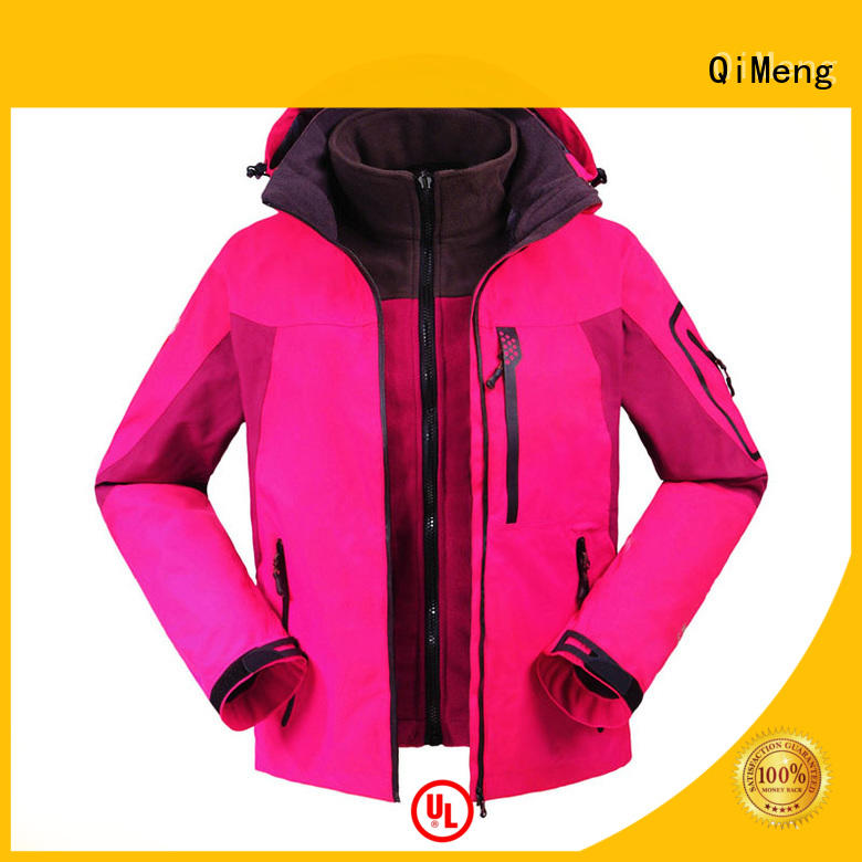 QiMeng OEM custom embroidered jackets factory in spring