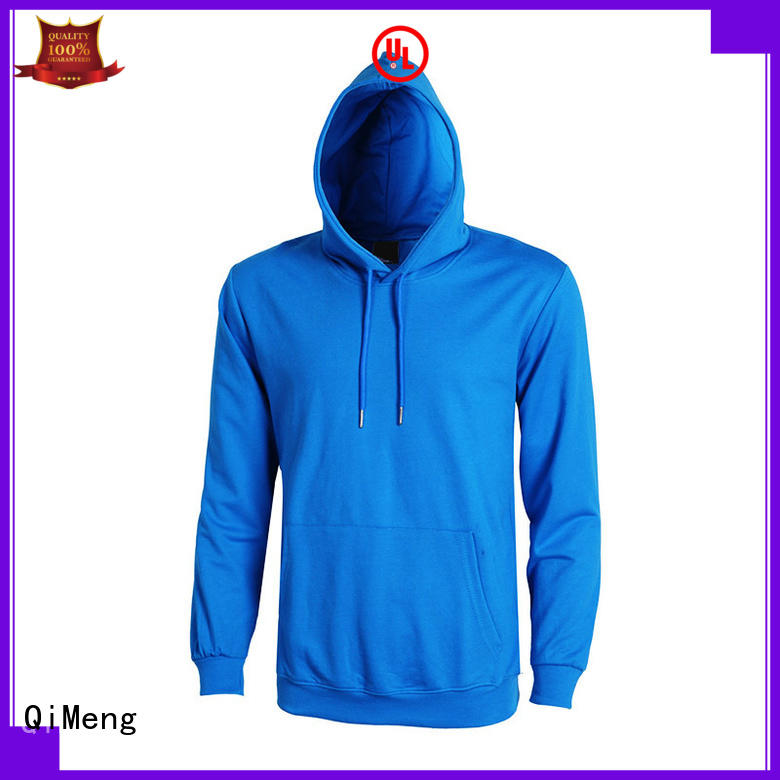 blank boys hoodies man for sports QiMeng