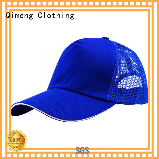 QiMeng trendy cap custom wholesale for outdoor activities