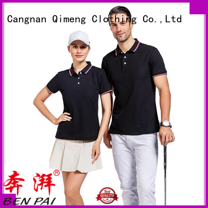 QiMeng clothes custom polo shirts from China
