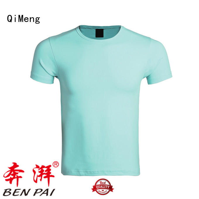 QiMeng 100%cotton t-shirts for women on sale for sporting