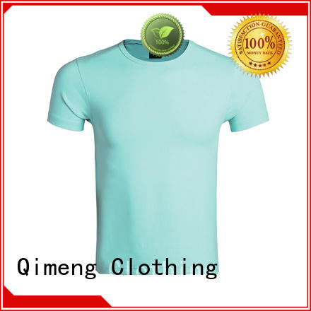 QiMeng quality custom printed t shirts on sale for sports