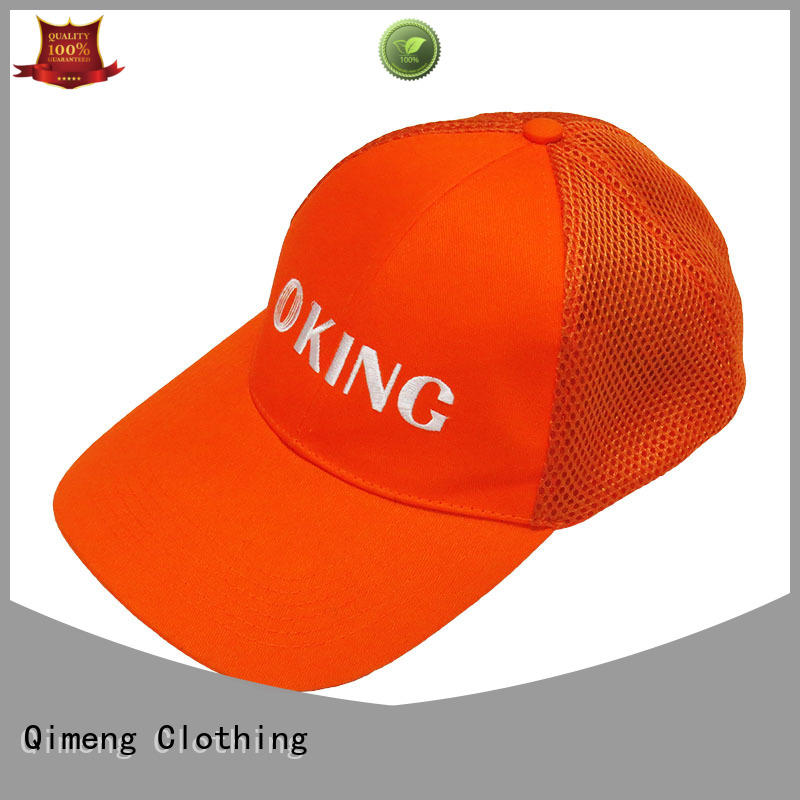 QiMeng caps cap custom in different color in work room