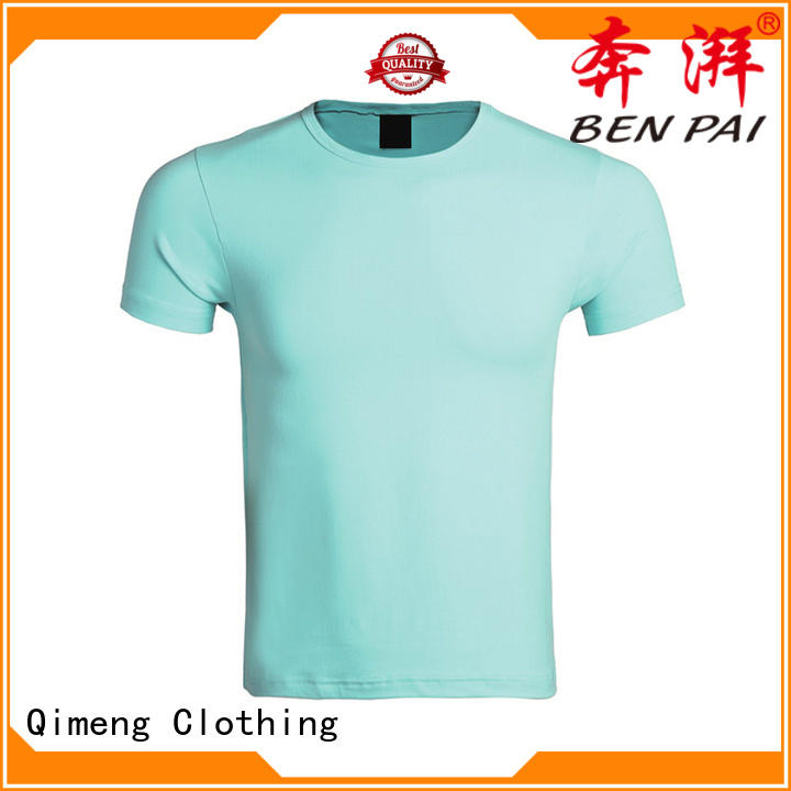 fine- quality custom cotton t-shirt O-neck supplier for promotional campaigns