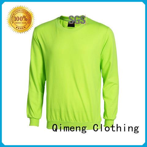 QiMeng premium sweatshirts hoodies factory price for sports