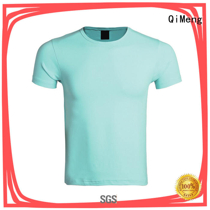 outdoor china custom t-shirts experts for team-work QiMeng